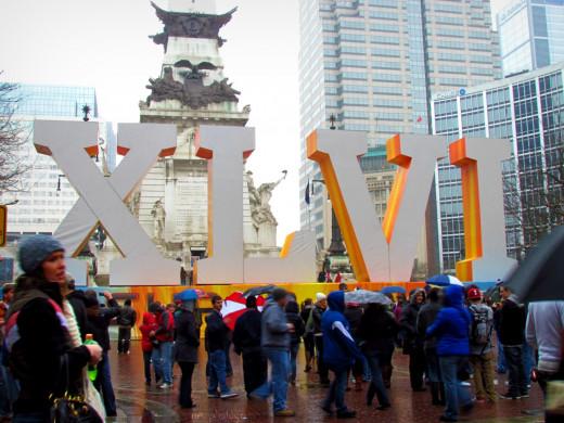 2012 Super Bowl in Indy