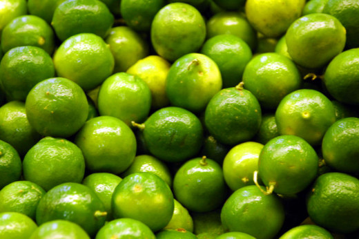 Fresh limes and lime leaves add fragrance and sourness to Thai soups and noodle dishes