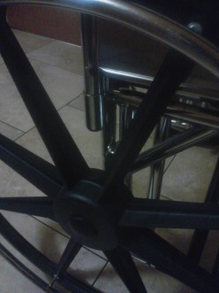 The Wheels on the Chair Go 'Round and 'Round