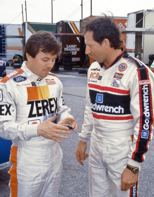 Kulwicki and Earnhardt; a tragic picture of two legends lost