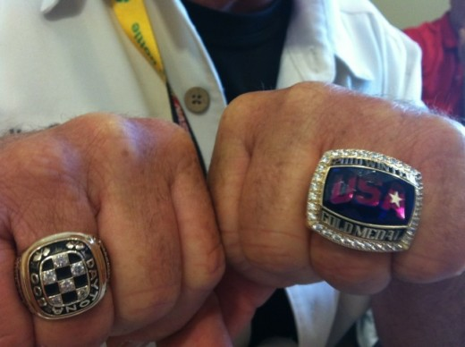 Bodine has a Daytona 500 and an Olympic gold medal ring; not too many people can say that