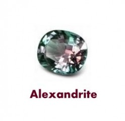 Alexandrite Gemstone is the Birthstone of June along with Pearl and Moonstone. It is the wedding anniversary gem for the 45th and 55th year of marriage.