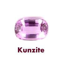 Kunzite gemstones because of its color pink which is symbolic of love, romance and marriage is an ideal gift to be given to a loved one signifying eternal love.