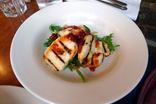 Halloumi Cheese grills better than most cheeses as it does not melt. See the recipe here