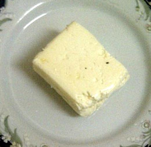 Fresh homemade Halloumi Cheese. Easy to make, see the recipe