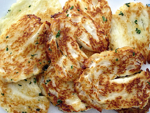 Grilled Halloumi cheese - see the recipe here.