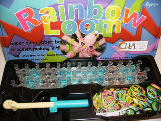 This is what a Rainbow Loom Kit Looks Like