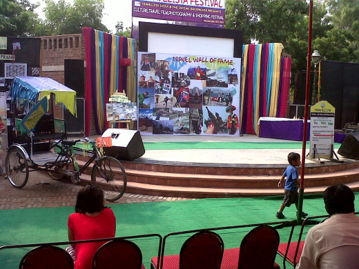 Dilli  Haat - Open Air Theater