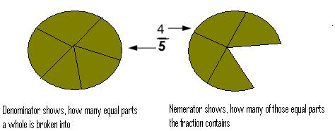What is the denominator and Numerator?