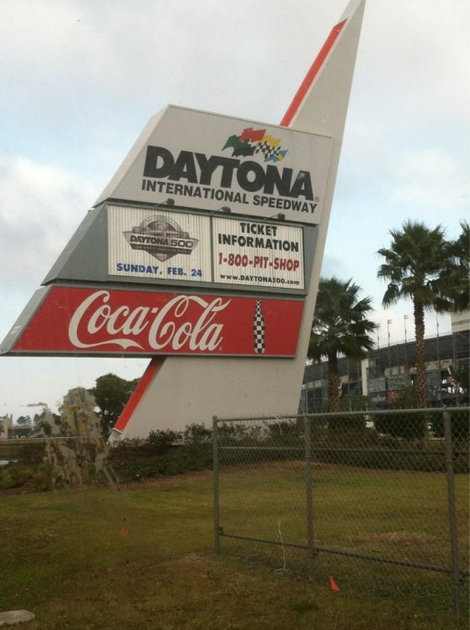 What do the ISC offices in Daytona see in NASCAR's TV ratings trends?