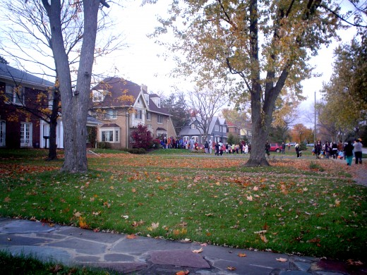 Trick or Treating in North East Indiana, Fort Wayne
