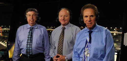 NASCAR on Fox's broadcast team