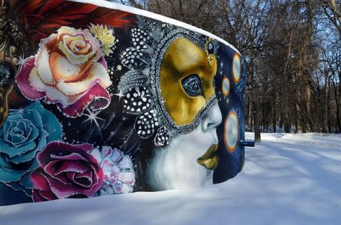 Mural in Winnipeg.