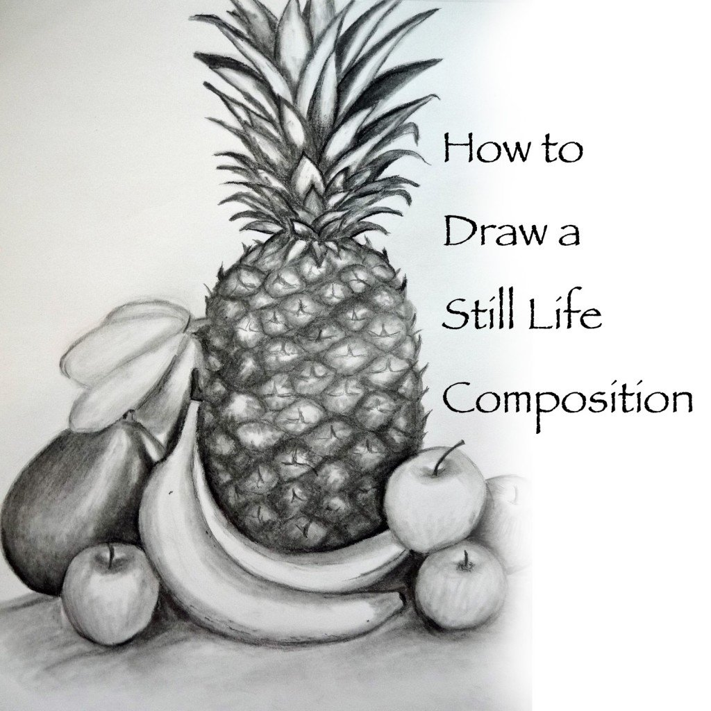 Scribble Drawing Still Life : How to draw a still life composition