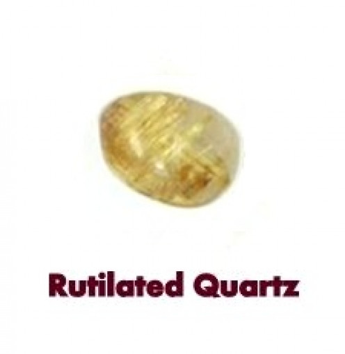 Rutilated Quartz Gemstones are healing stones effective on all Chakras.