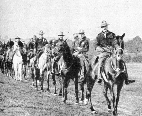 Canadian Cavalry in England