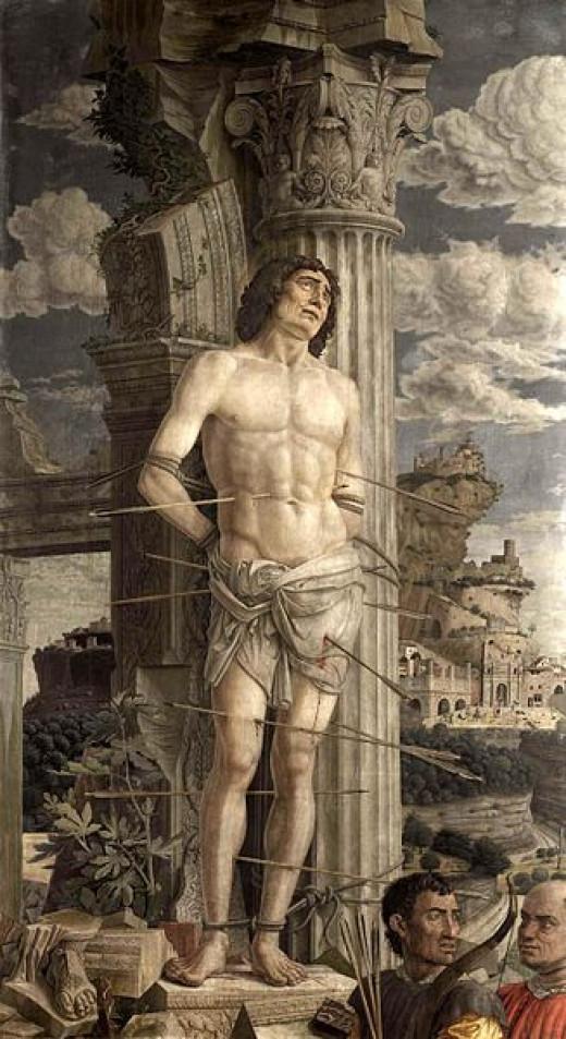 St Sebastian (1482 - 1485, Louvre)