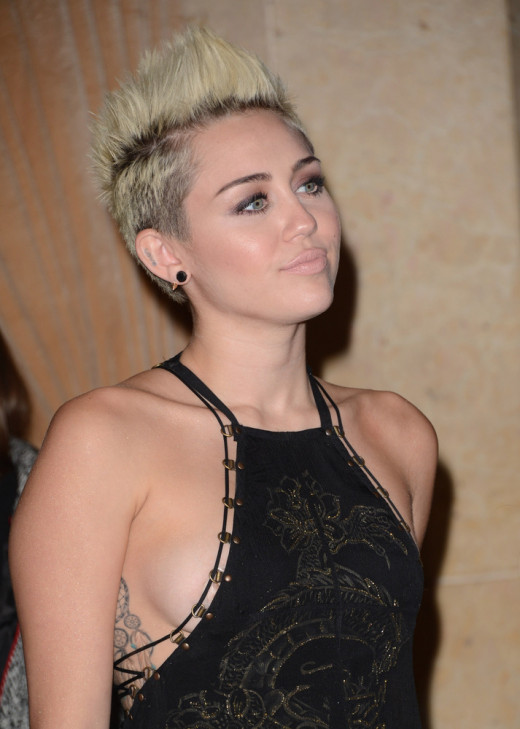 Miley Cyrus - the new look