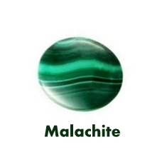 Malachite Gemstone is the Birthstone of July and Wedding Anniversary gem stone associated with the 13th year of Marriage.