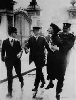 Suffragettes: The Suffragettes Leader. Emmeline Pankhurst.