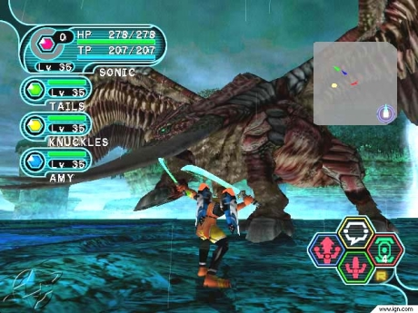 Bigger is better.... in moderation. Phantasy Star Online knows when to impress with its mega bosses!