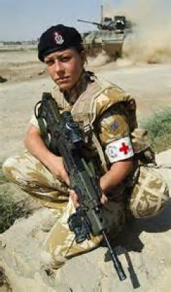 Military Award Winners: The British Medic and the US Marine.
