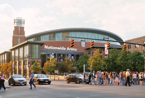 Nationwide supports sports as well in Ohio's Capital City.