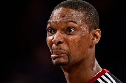 Chris Bosh needs to focus on basketball and not on distractions like his male modeling career.