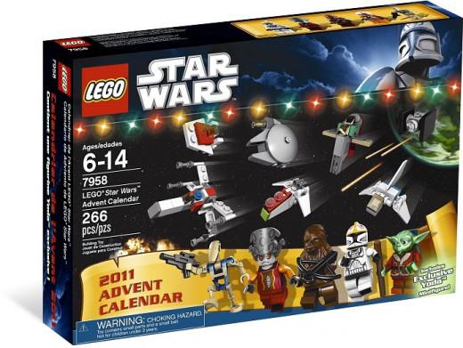 Lego Star Wars Advent Calendar #7958 - Box
