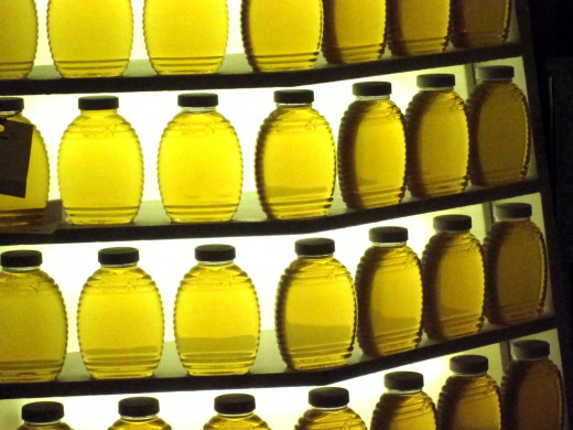 Honey can be used as a mild laxative.
