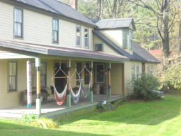Come stay at my bed and breakfast in Royalton, Vt. Enjoy the cozy house as we begin to winterize it.