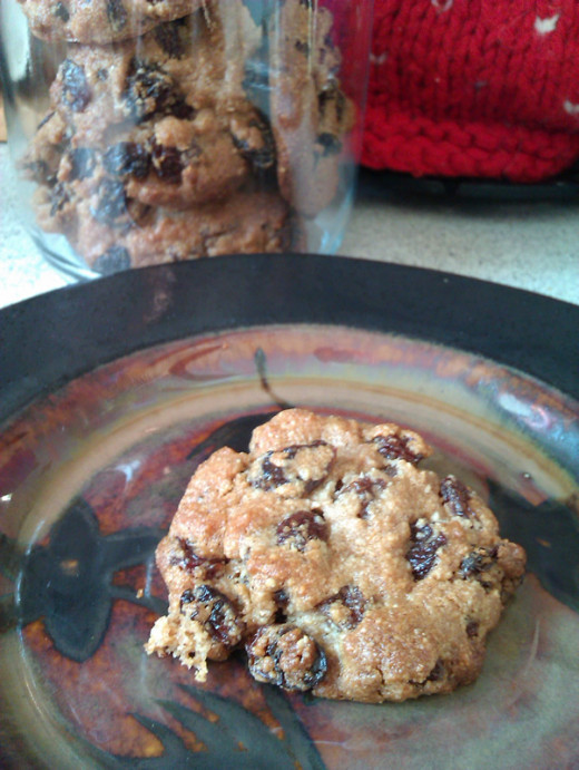 Primal Spicy Raisin Cookie Recipe