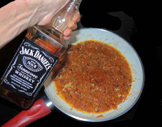 Jack! As much or as little as you like--cook it off...