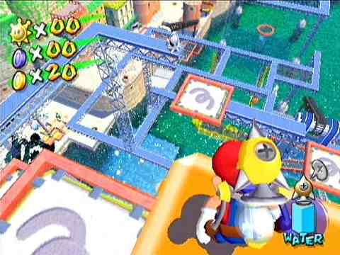 The game's levels are huge and even in 2013, you can tell that the developers had fun going from SM64 to this.