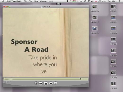 Sponsor a road