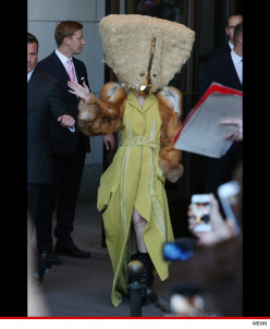 What does Lady Gaga wear for Halloween?