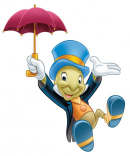 Jiminy Cricket taught me to read in his Encyclopedia segment on the Mickey Mouse Club during the early 1950s,
