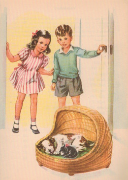 Tip and Mitten is another first reader that established family values and taught me to read. Of course it is nostalgia.