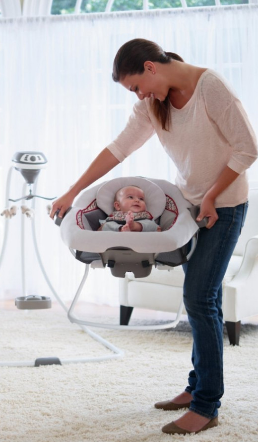 Graco DuetConnect LX Swing Plus Bouncer