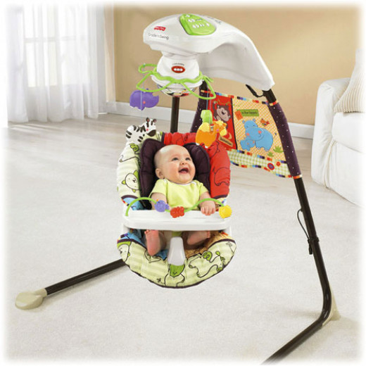 Fisher-Price Cradle 'N Swing Luv U Zoo