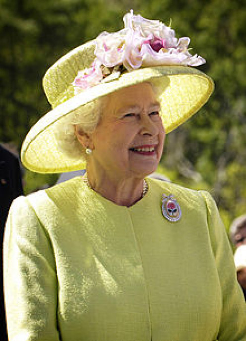 Queen Elizabeth II - I have included a question about this regal lady.