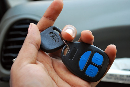 Always have your car keys ready in your hand.