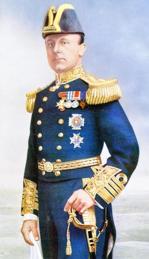 Admiral Sir John Rushworth Jellicoe. K.C.B.. K.C.V.O.