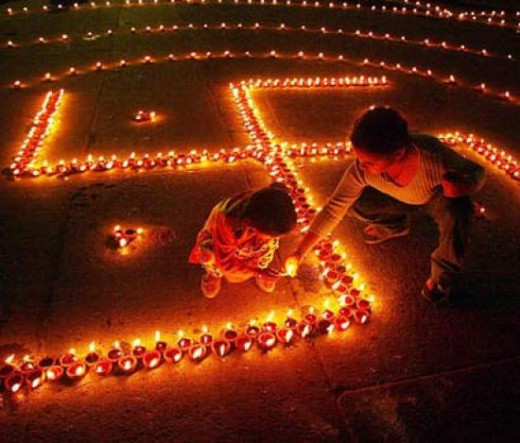 Diwali decorating ideas hubpages for Decorations for diwali at home