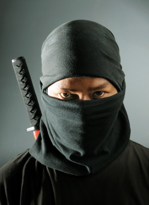 Want to know what it takes to become a ninja? Yeah, me too...