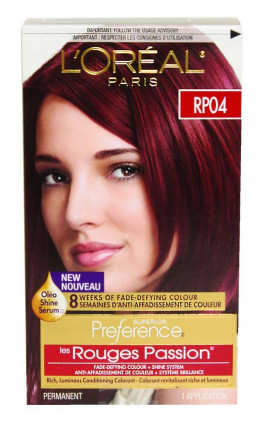 Red Hair Color Review