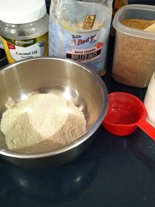 Yum ingredients make great cookies.