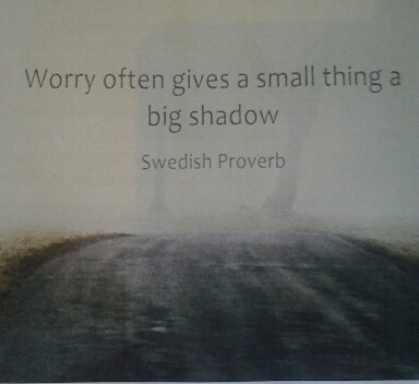 Worrying can have a debilitating effect
