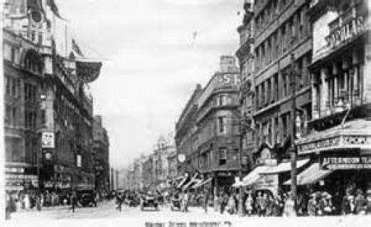 Manchester England 1920.
