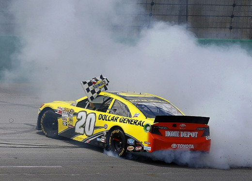Will Kenseth be doing donuts for an eighth time this season after this week's race?